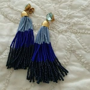 JCrew beaded earrings